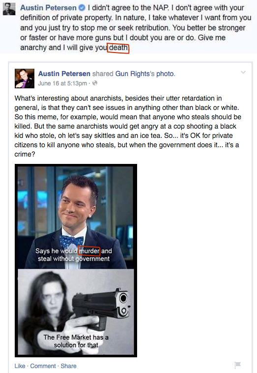Austin Petersen Anarchy